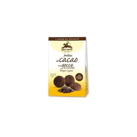 Frollini al cacao con gocce di cioccolato -  ALCE NERO