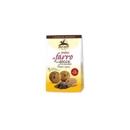 Frollini al farro con gocce di cioccolato -  ALCE NERO