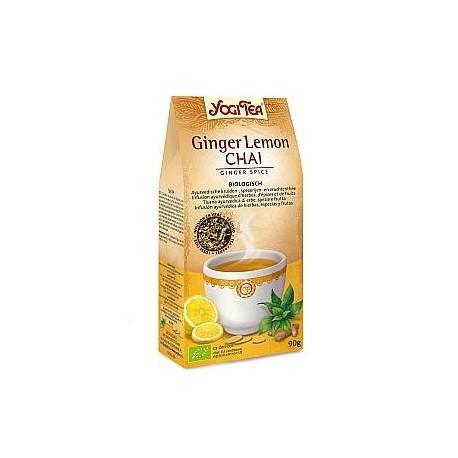 Ginger Lemon Chai Zenzero, Limone, Spezie Bio - YOGI TEA