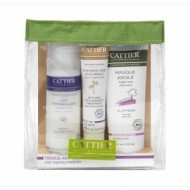 Kit di Bellezza da Viaggo Anti-Age Bio - CATTIER PARIS