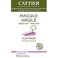 Maschera Monodose All'Argilla Rosa e Aloe Vera - CATTIER PARIS