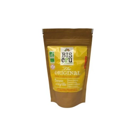 Mini Cracker Crudi Banane e Mirtilli Bio -  BIS CRU