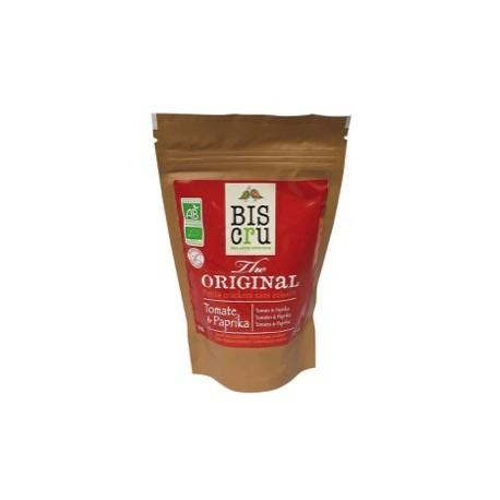 Mini Cracker Crudi Pomodoro e Paprika Bio - BIS CRU