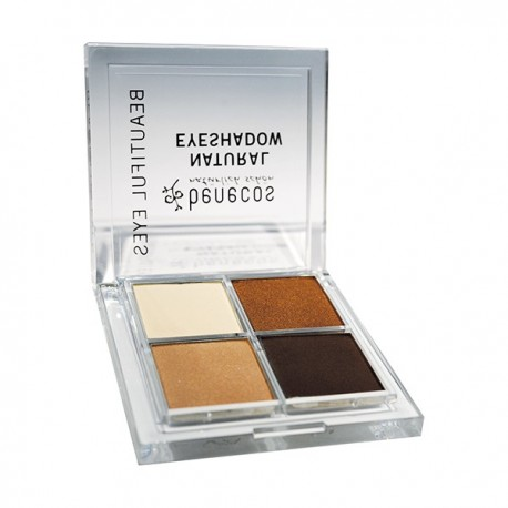 Natural eyeshadow Coffee & Cream - BENECOS