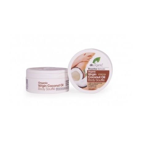 Organic Cocco Body Soufflè 200 ml - Burro Leggero Corpo - DR ORGANIC