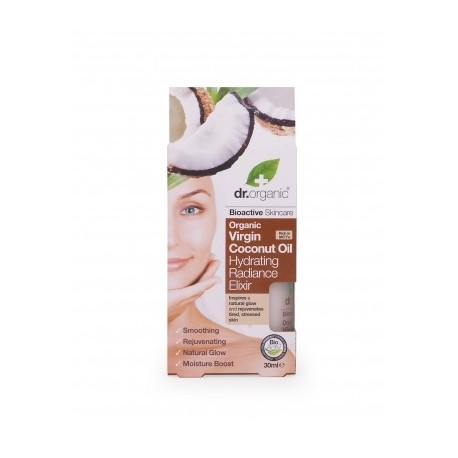 Organic Cocco Hydrating Radiance Serum Elixir 30 ml - Siero Viso Idratante - DR ORGANIC