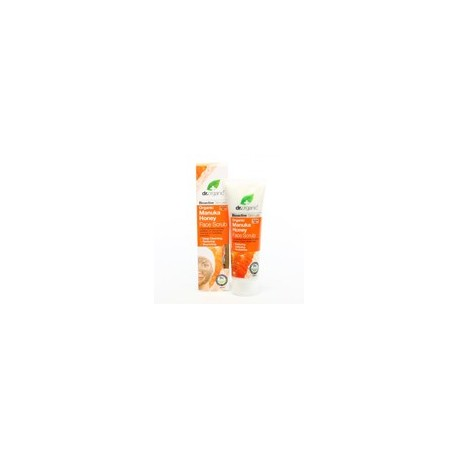 Organic Manuka Honey Body Face Scrub, 125 ml - Scrub Viso - DR ORGANIC