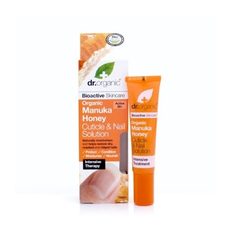 Organic Manuka Honey Cuticle Repair, 15 ml - Siero Unghie e Cuticole - DR ORGANIC