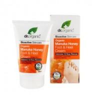 Organic Manuka Honey Foot & Nail Cream, 125 ml - Crema Piedi - DR ORGANIC