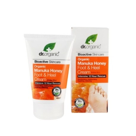 Organic Manuka Honey Foot & Nail Cream, 125 ml - Crema Piedi - DR ORGANIC