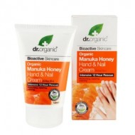 Organic Manuka Honey Hand & Nail Cream, 125 ml - Crema Mani - DR ORGANIC