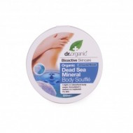 Organic Sali Mar Morto Deal Sea Mineral Body Souffle', 200 ml - Burro Levigante - DR ORGANIC