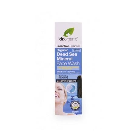 Organic Sali Mar Morto Face Wash, 200 ml - Detergente Viso - DR ORGANIC