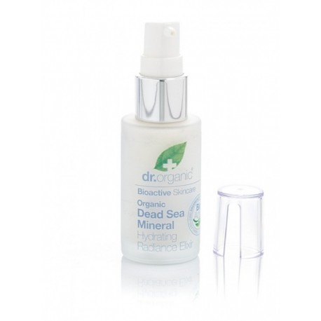 Organic Sali Mar Morto Hydrating Radiance Elixir, 30 ml - Siero Viso Idratante - DR ORGANIC