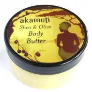 Organic shea e olive body butter - 100ml - AKAMUTI