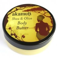Organic shea e olive body butter - 50ml - AKAMUTI