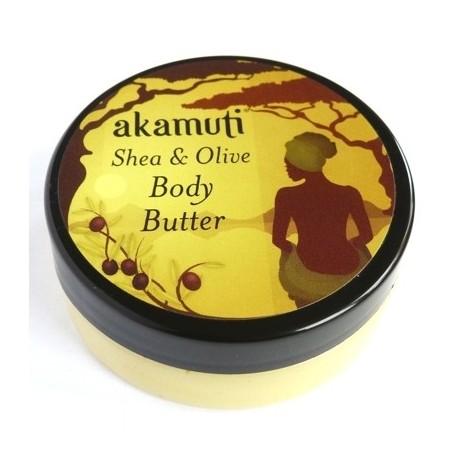 Organic shea e olive body butter - 50ml - AKAMUTI