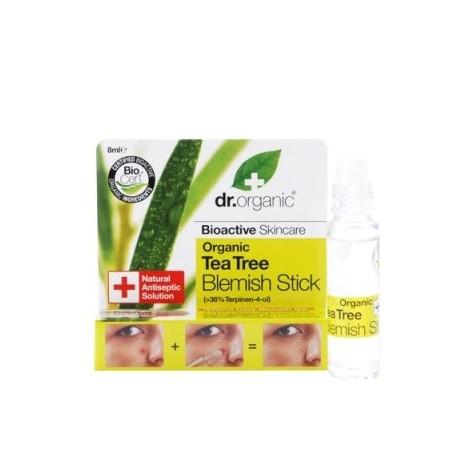Organic Tea Tree Blemish Stick, 8 ml - Stick Imperfezioni Viso - DR ORGANIC
