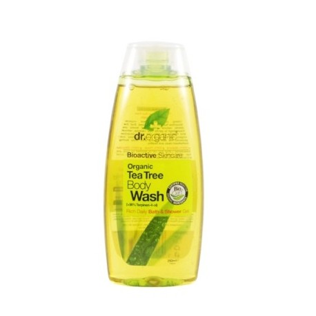 Organic Tea Tree Body Wash, 250 ml - Detergente Corpo - DR ORGANIC