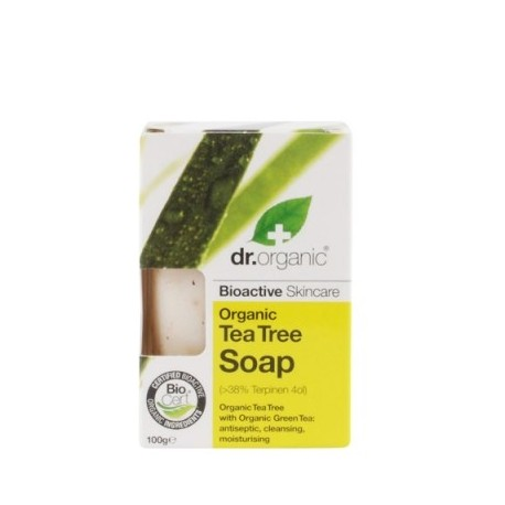 Organic Tea Tree Soap,100 gr - Sapone - DR ORGANIC