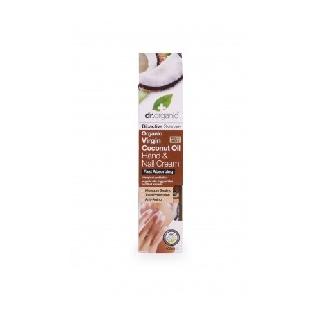 Organic Virgin Coconut Oil - Hand & Nail Cream - DR ORGANIC