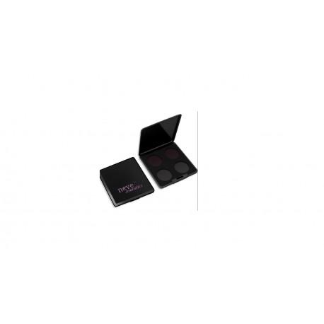 Palette Personalizzabile da 4 Black - NEVE COSMETICS