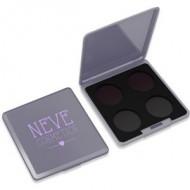 Palette Personalizzabile da 4 Grey Glam - NEVE COSMETICS