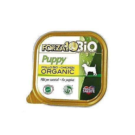Patè per Cani Cuccioli Pollo Bio - FORZA10BIO