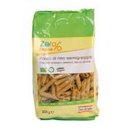 Penne di Riso Semigreggio Bio - Zero% Glutine - FIOR DI LOTO