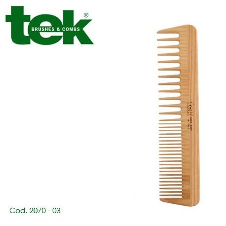 Pettine grande a denti radi e fitti 2070-03 - TEK