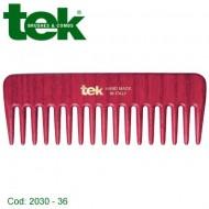 Pettine piccolo rado Rosso 2030- 36 - TEK