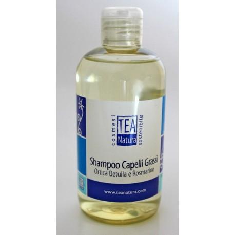 Shampoo Capelli grassi Ortica e Betulla e Rosmarino - TEA NATURA