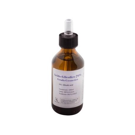 Acido glicolico 70% Grado Cosmetico - ALKEMILLA