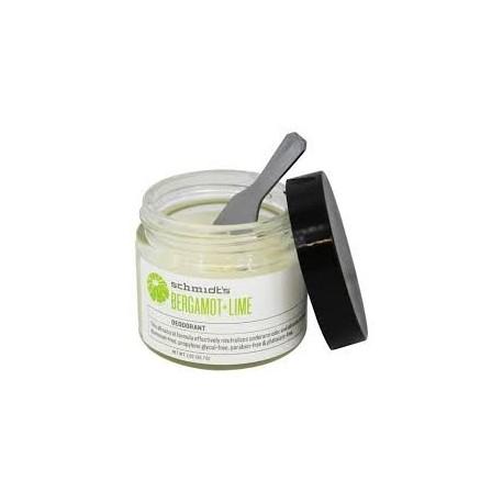 Bergamot + Lime Deodorant 56 gr - SCHMIDT'S DEODORANT