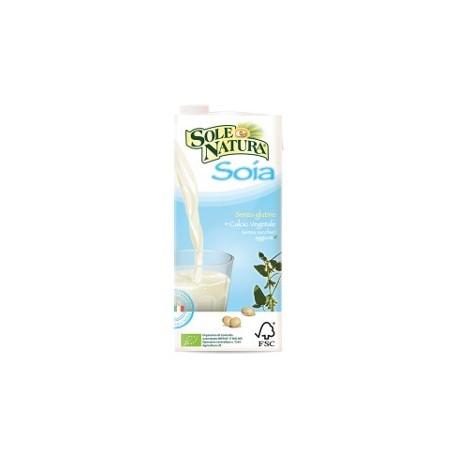 Bevanda di Soia Natural Bio con Calcio - SOLE NATURA