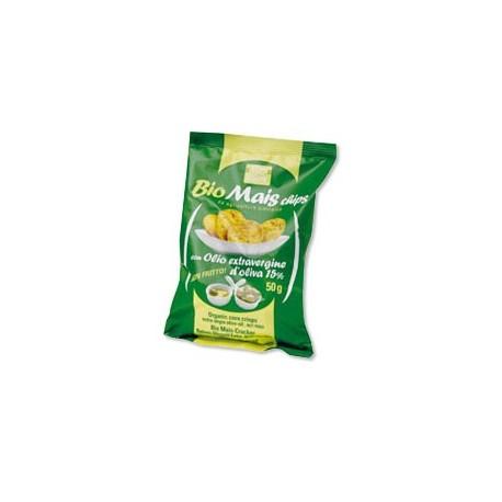 Bio Mais Chips con Olio Extravergine di Oliva - BIO BREAK