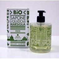 Bio Sapone Liquido di Marsiglia - Fico - QUALIKOS