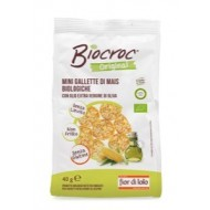 Biocroc Mini Gallette di Mais - FIOR DI LOTO
