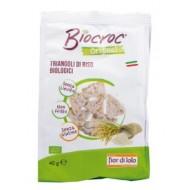 Biocroc Triangoli di Riso Bio - FIOR DI LOTO