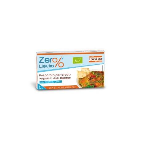 Brodo vegetale in dado Bio - Zero % Lievito - FIOR DI LOTO