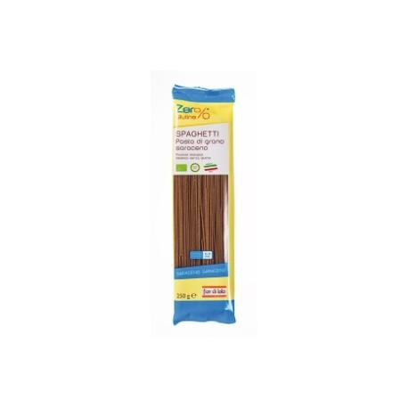 Spaghettii di Grano Saraceno Bio Zero% Glutine - FIOR DI LOTO