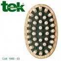 Spazzola massaggio corpo con denti in legno grandi 1980-03 - TEK