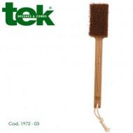 Spazzola massaggio corpo con setole in cocco e manico fisso 1972-03 - TEK