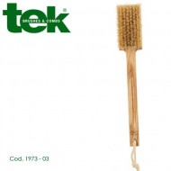 Spazzola massaggio corpo con setole in tampico (hard) e manico fisso 1973-03 - TEK