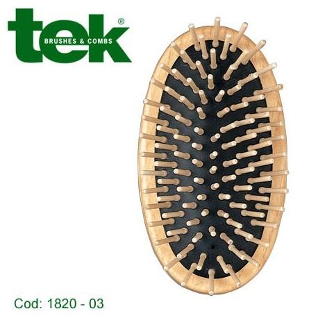 Spazzola ovale uomo con tienimano in cotone 3170-03- TEK