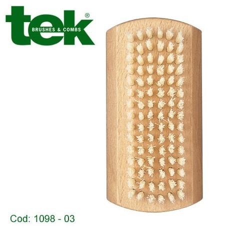 Spazzolino per unghie in fibra naturale  - TEK
