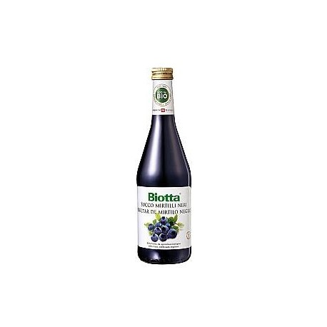 Succo di Mirtilli Neri Selvatici Bio - BIOTTA