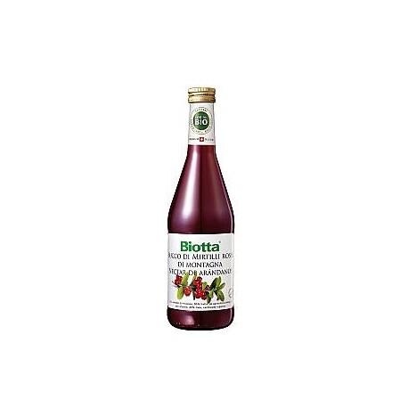 Succo mirtilli rossi Bio - BIOTTA