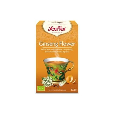 Tao Ginseng Flower  Bio - YOGI TEA