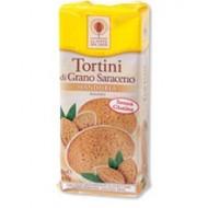Tortini di Grano Saraceno alle Mandorle - LA CITTA' DEL SOLE
